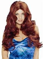 Long Natural Red Sultry Wig - Adult