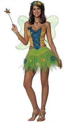 Adult Sexy Woodland Fairy Costume