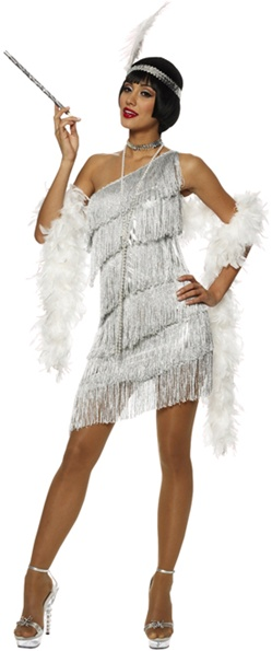 Adult Size Dazzling Flapper Costume