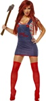 Officially Licensed Sexy Chucky Ladies Costume