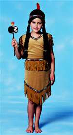 Girl Indian Child Costume