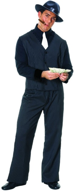 Classic Gangster Costume - Adult