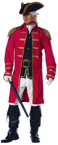 British Red Coat Costume