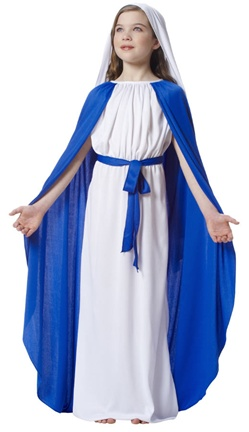 Girl's Mary Costume