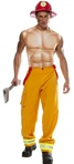 Firefighter Dude Costume - Adult