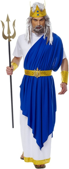 Adult Size Neptune Costume