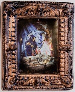 Alchemy Gothic Framed Halloween Picture