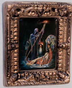 Charonos The Riverman - Alchemy Gothic Framed Picture