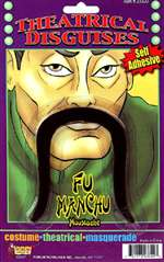 Fu Manchu Moustache - Theatrical