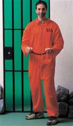 Adult Prisoner Mens Costume