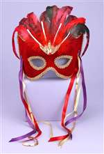 Elegant Ladies Mardi Gras Mask