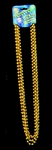 Gold Mardi Gras Costume Beads