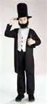 Child Abe Lincoln Costume - SMALL (4-6)