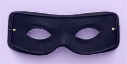 Black Eye Mask with Ties