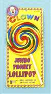 Fake Jumbo Lollipop - Clown Prop