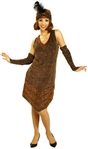 Copper Flapper Adult Costume