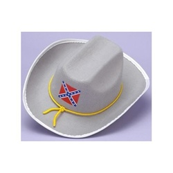 Confederate Officer Adult Hat