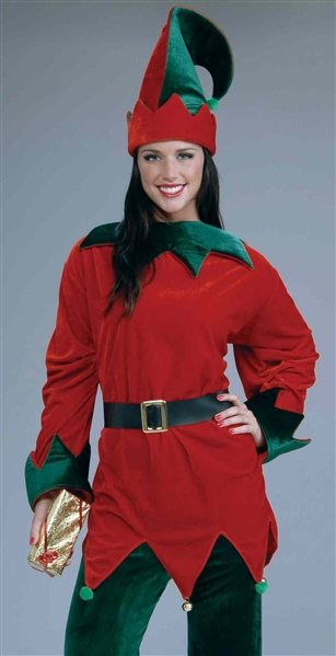 Unisex Christmas Elf Costume