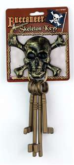 Pirate Skeleton Keys - Prop
