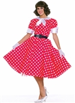 1950s Housewife Dress Costume - STD