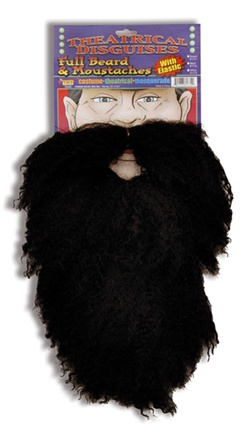 Black Beard and Mustache - Accessory