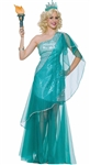 Sexy Statue of Liberty Adult Costume
