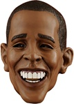 Adult President Obama Deluxe Latex Mask