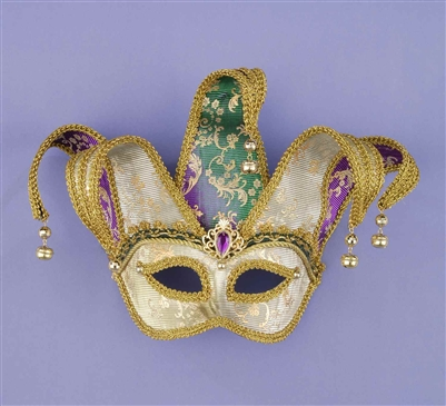 Jester Masquerade Adult Mask