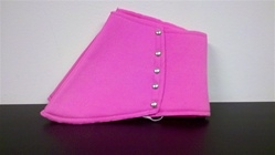 Roaring 20's Gangster Spats - Pink