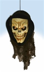Hanging PVC Light Up Reaper Head - Decoration.
