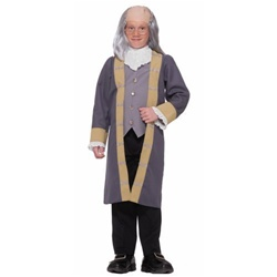 Child Sized Ben Franklin Costume