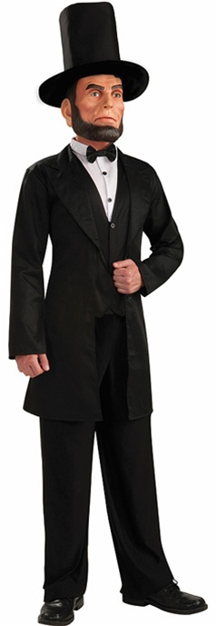 Adult Deluxe Abe Lincoln Costume