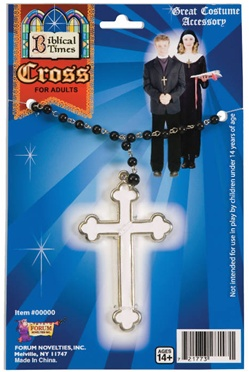 Biblical Times Cross Necklace Accessory