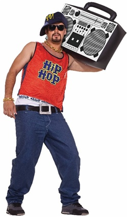 Adult Size Home Boy Costume