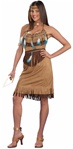 Adult Native American Pow 'Wow' Princess Costume