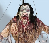 Flying Vampiress Haunted House Prop