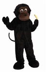 Cartoon Gorilla Mascot Costume