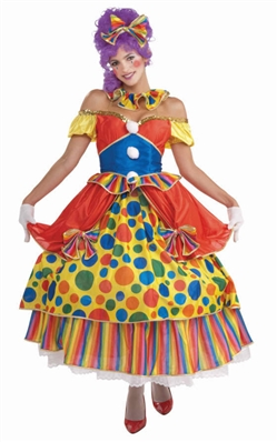Belle of the Big Top  - Women's Clown Costume