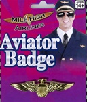 Gold Aviator Badge