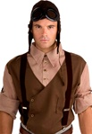 Brown Steampunk Suspenders