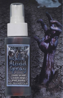 Black Zombie Blood - Spray on