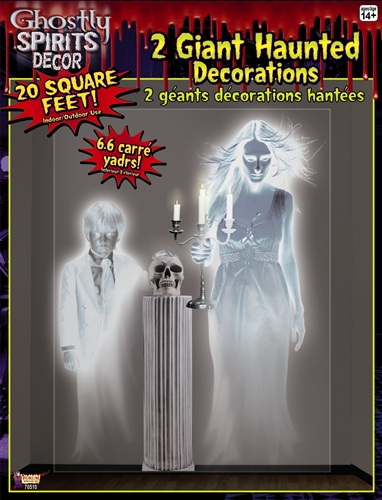 Party Wall Decor - Ghostly Figures