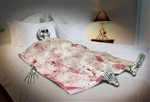 Prop Set - Bloody Death Bed Scene