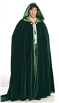 Deluxe Green Celtic Cape