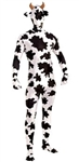 Disappearing Man Cow Print Jumpsuit - Adult