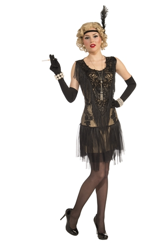 Adult Lacey Lindy Flapper Costume