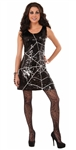 Spider Web Halloween Dress
