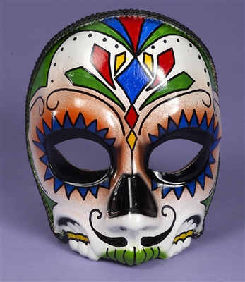 Men's Sugar Skull Mask