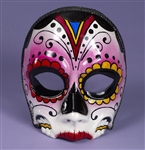 Women's Sugar Skull Day of the Dead Mask