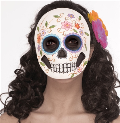 Sugar Skull Day of the Dead Mask